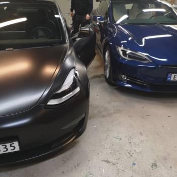 Oklejone samochody
