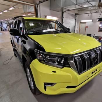 Zmiana koloru Toyoty