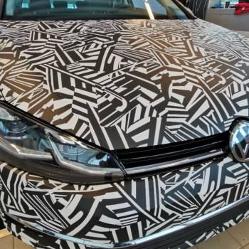 Ciekawie oklejony VW