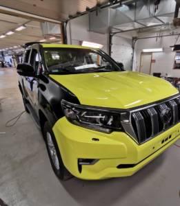 Jeep oklejony folią - premiumwrapps